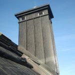 Gont Blaszany JANOSIK – obróbka komina