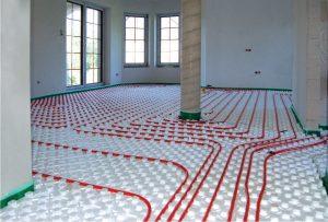 Ogrzewanie podłogowe – płyty Knauf