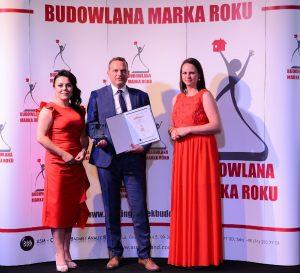 Termo Organika ze Złotą Budowlaną Marką Roku 2018