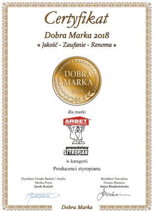 Dyplom Dobra Marka