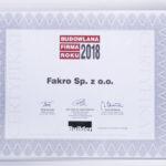 Budowlana Firma Roku 2018