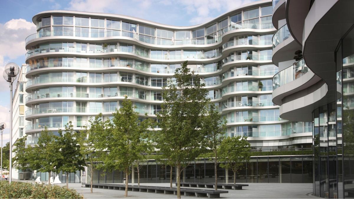 Albion Riverside w Londynie. Fot. Schöck