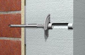 Jedno mocowanie dla wszystkich grubości materiałów izolacyjnych od100 mm do400 mm fot.fischer