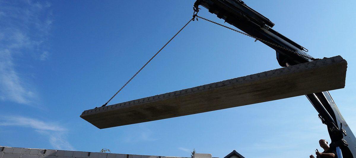 budowa stropu